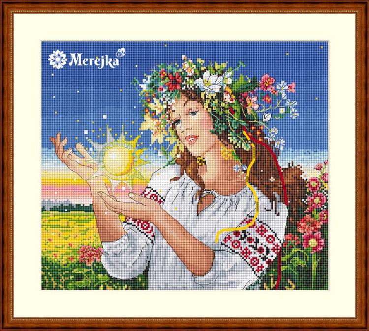 осенняя пора, набор для вышивания крестом, марья искусница, интернет-магазин, купить, москва, россия, доставка