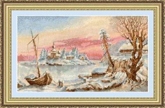 Набор для вышивания Сделай своими руками З-04 Замороженный остров