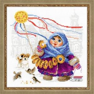 1517 Масленица. Бублики Набор для вышивания Производитель: Риолис