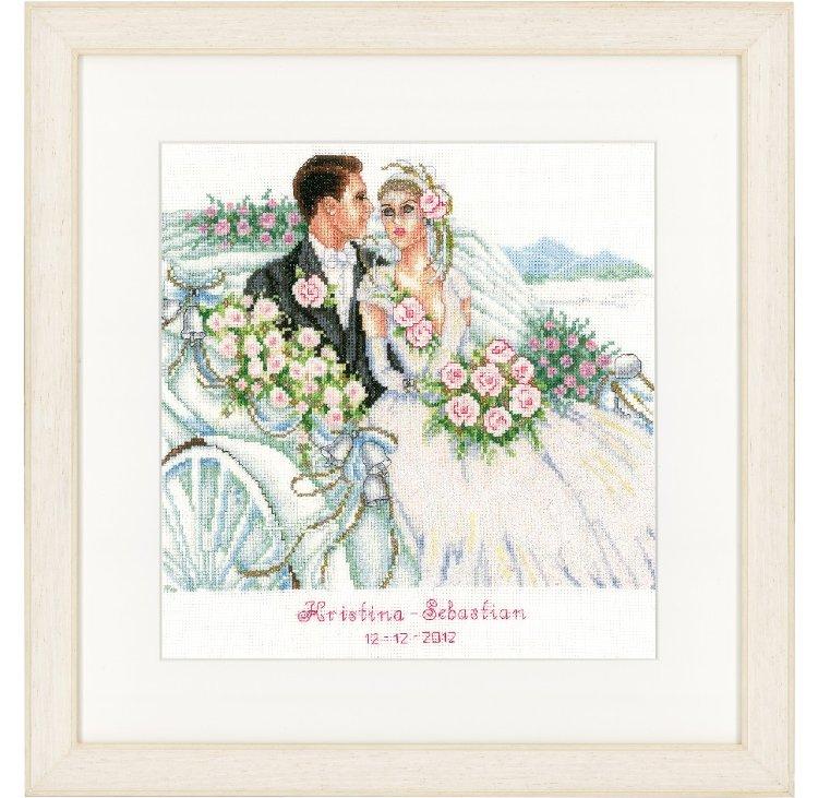 Вышивка с днем свадьбы 51