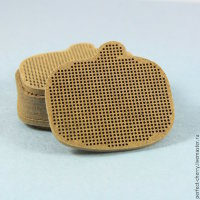 Основа для вышивки А033 Тыква