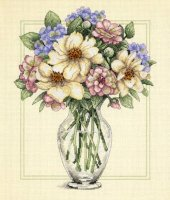 35228 Flowers in Tall Vase