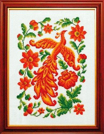Вышивка крестом жар птица набор 7