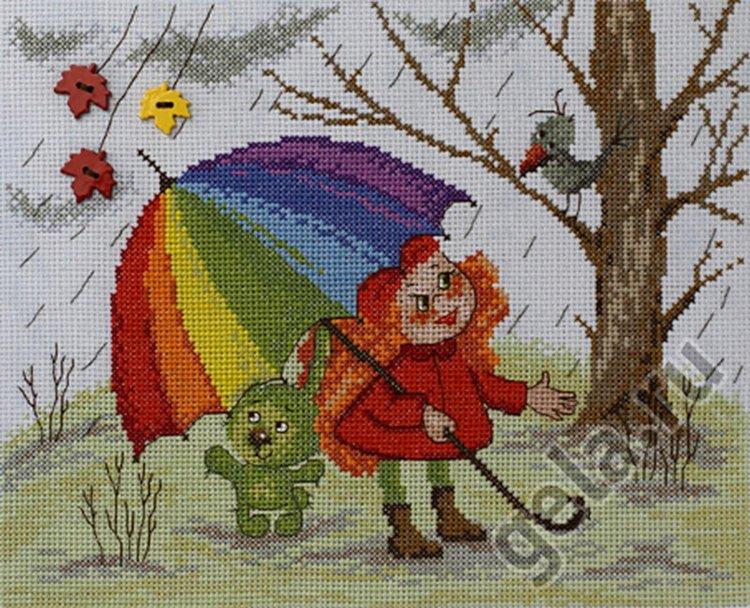 Набор для вышивания радуга