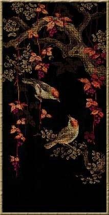 1063 Райские птички Набор для вышивания Производитель: Риолис Размер: 30 x 60 см