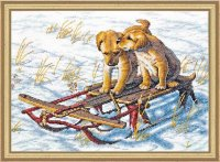 08852 Sled Dogs