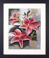 35089 Composition Of Pink Lilies