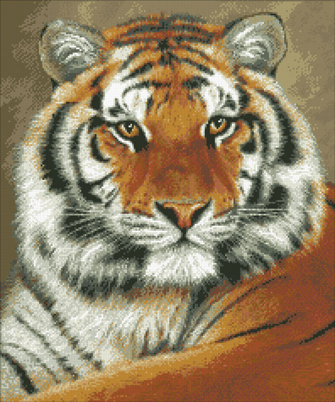 картинки с тиграми в стилизации