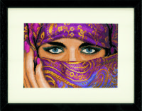 PN-0021203 VEILED WOMAN