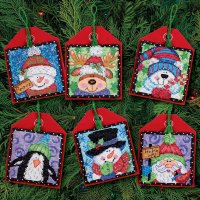 08842 Christmas Pals Ornaments