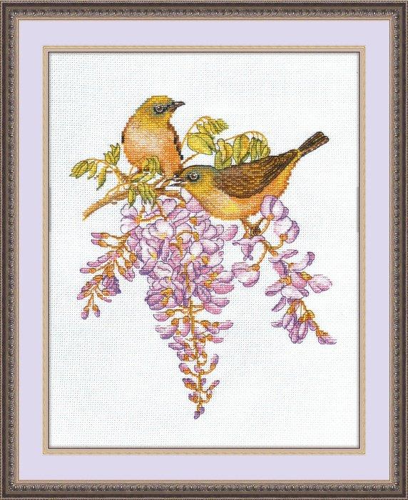 Вышивки крестом наборы птицы 99