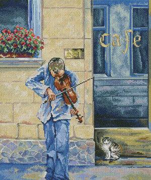 M467 Уличный музыкант
