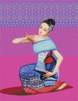 TD-05 Thai Silk-maker Folk Dancer