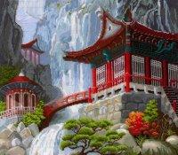 В-12 Водопад и пагода