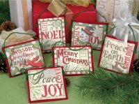 08827 Christmas Sayings Ornaments